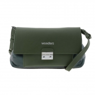 Borsa a tracolla verde WB-46151 Wonders