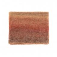 Colletto da donna in maglia marmorizzata colorata