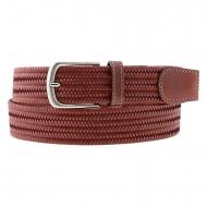 Cintura da uomo in pelle intrecciata marca Bellido