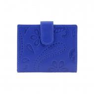 Piccolo portafoglio in pelle stampa cashmere