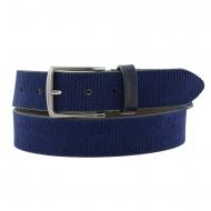 Cintura in crosta di cuoio incisa Miguel Bellido